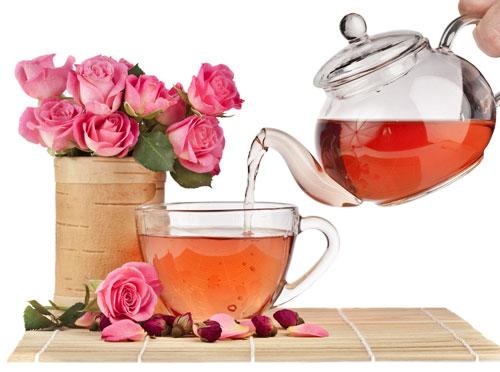 чай из розы фото