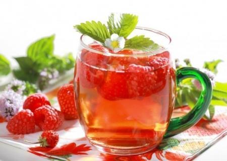 Чай с малиной - лучшее лекарство от простуды